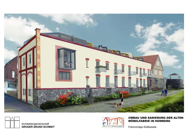 Wohnen in der Alten Möbelfabrik - Visualisierung 1