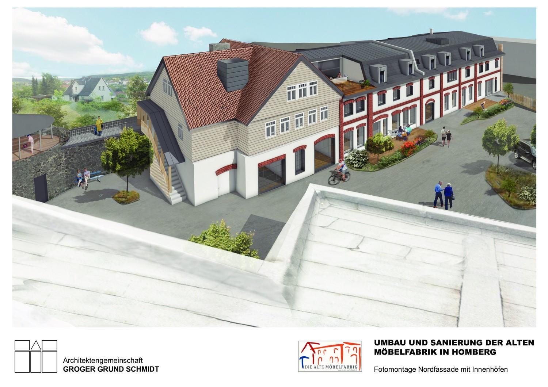 Wohnen in der Alten Möbelfabrik - Visualisierung 4